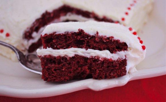 A red velvet cake confession