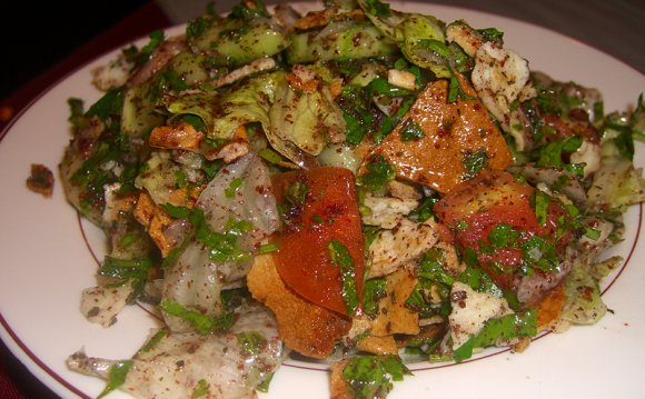Fatoush salad recipe