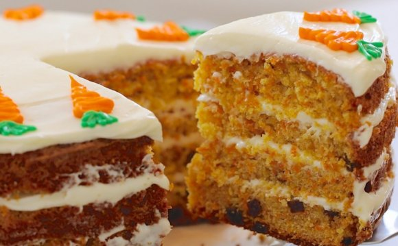 A great carrot cake recipe