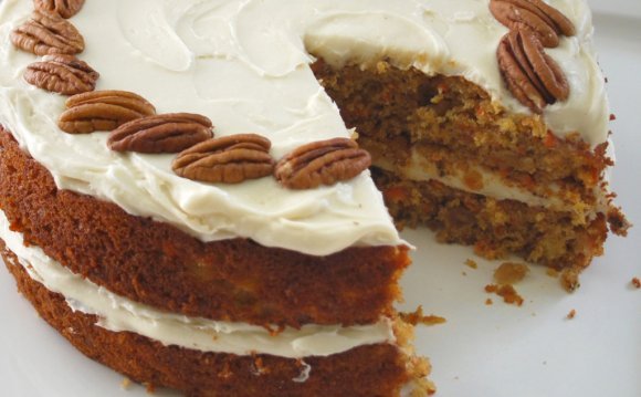 Carrot Cake with Baking