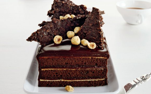 Chocolate Hazelnut Cake with