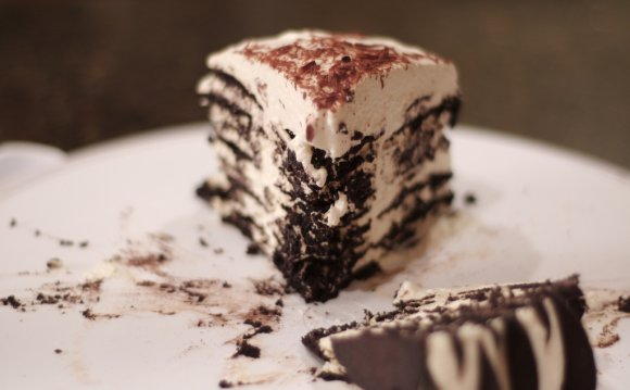 Chocolate Wafer Icebox Cake is