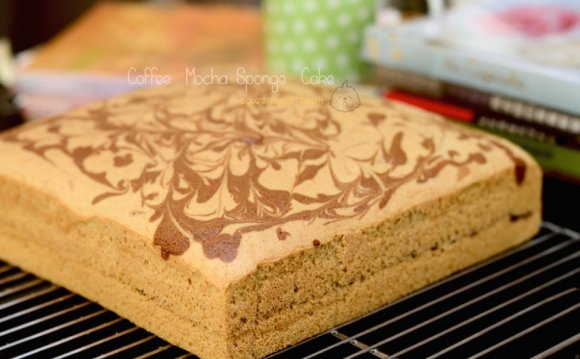 Coffee Mocha Sponge Cake