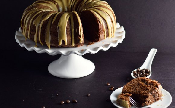 Coffee Chocolate Bundt Cake