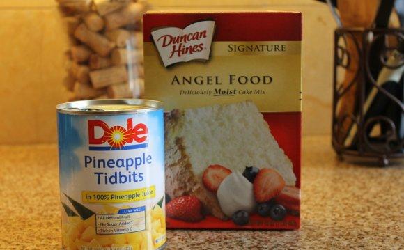 Day 188 – Pineapple Angel Food