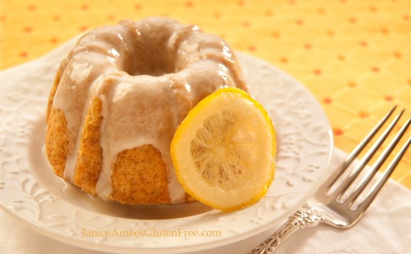 Lemon Coconut Bundt Cake with