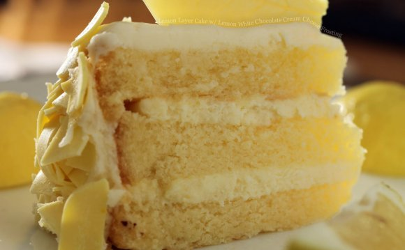 Lemon Layer Cake with Lemon