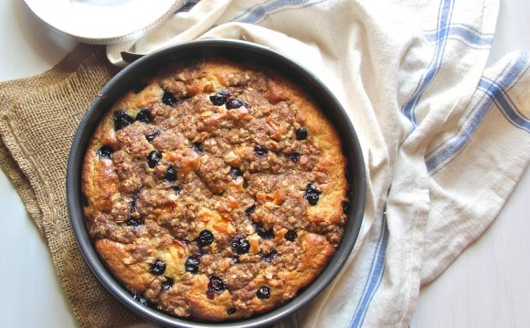 My Best Blueberry Coffee Cake