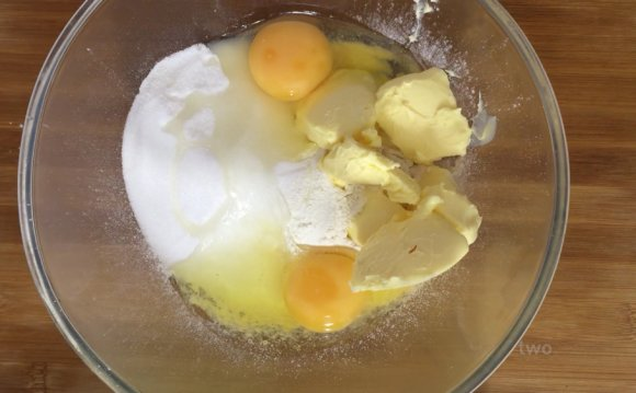 Plain sponge cupcakes recipe 1