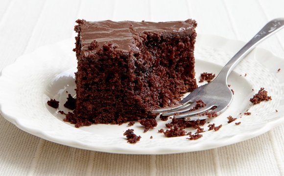 Sour Chocolate Cake Recipe |