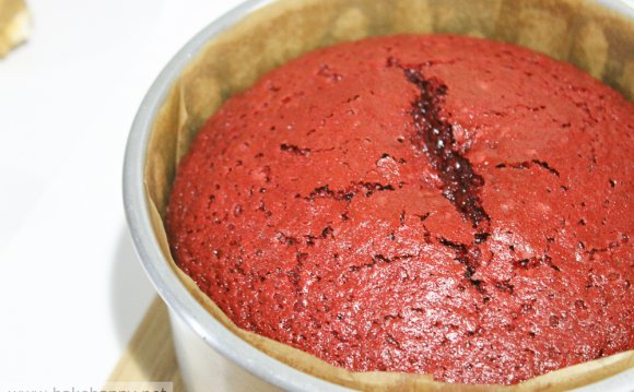 Back to our red velvet cake