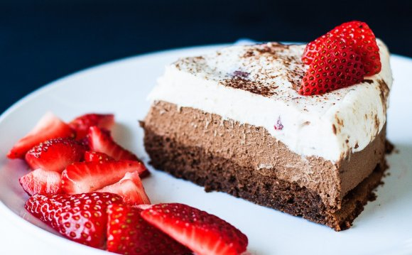Chocolate Mousse Cake - A