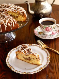 a normal dish and record for Sour Cream Coffeecake from meals historian Gil Marks regarding History home