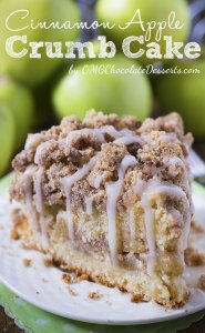 do you want for fall cooking? Cinnamon Apple Crumb Cake may be the perfect dessert for crisp weather condition coming.