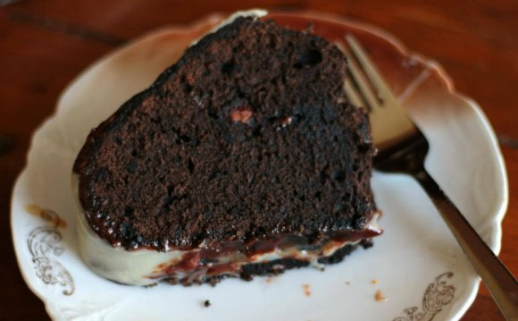 Chocolate Kahlua Cake recipe from scratch
