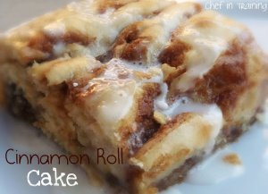 Cinnamon Roll Cake! The ooey gooey-ness of cinnamon moves with a fraction of the job! This will be really an incredible meal!