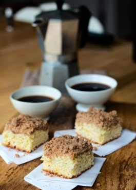 Coffee dessert meal