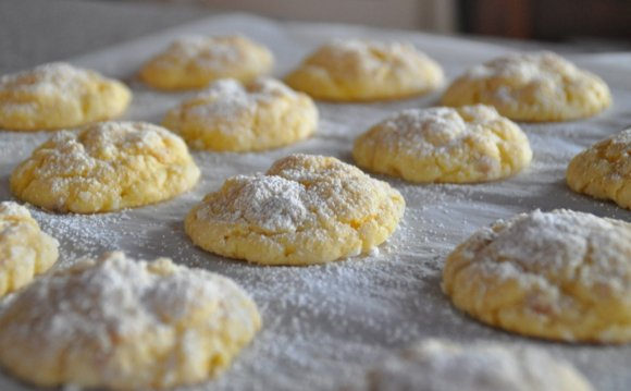 Cream cheese Cookies recipe with Cake mix