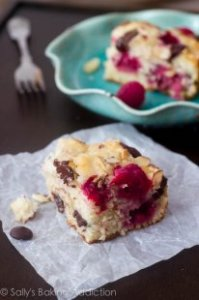 Dark Chocolate Raspberry Coffee Cake