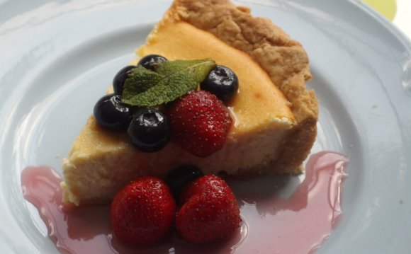 Easy Cream cheese Cake recipe