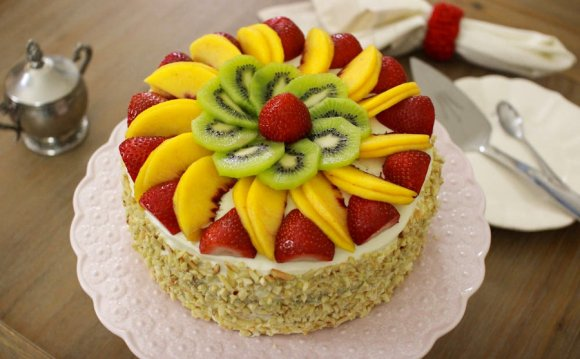 Chinese fruit cake recipe