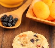 Fruitcake Cookies -- a healthy and balanced twist from the vacation classic. Soft, thick & so addictive!