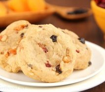 Fruitcake Cookies -- a wholesome perspective from the vacation classic. Soft, dense & so addictive!