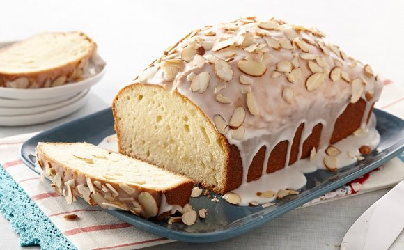 Almond Pound Cakes recipe