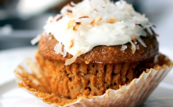Whole wheat Carrot Cake recipe