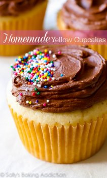 do-it-yourself Yellow Cupcakes