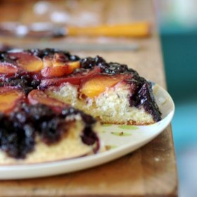 steps to make an Upside-Down Cake with virtually any Fruit