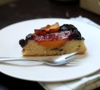 making an Upside-Down Cake with virtually any Fruit