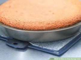 Image titled Make a straightforward sponge-cake Step 7