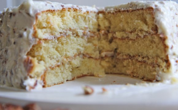 Italian Cream Cake recipe with Cake mix