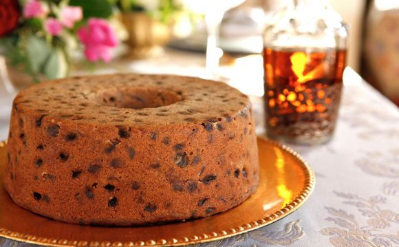 Bourbon fruit cake recipe