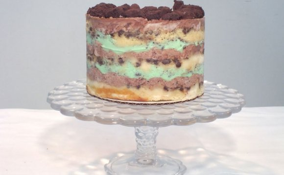 Cookies N Cream Cake recipe
