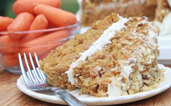 Fluffy Carrot Cake recipe