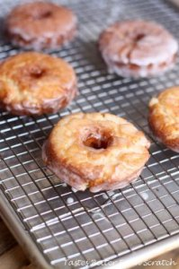 old-fashioned Sour Cream Donuts from TastesBetterFromScratch.com