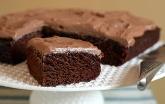 One-Bowl Eggless Chocolate Cake