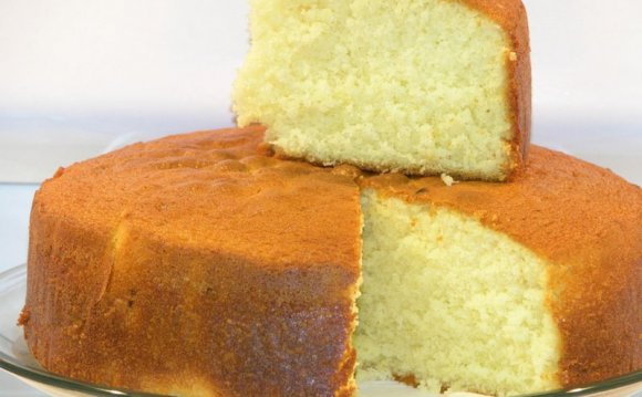 Easy Vanilla sponge cake recipe