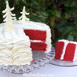 Red Velvet Cake Recipe by MyCakeSchool.com