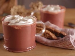 Red Velvet Hot Chocolate with Marshmallow Whipped Cream