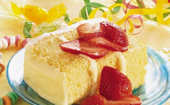 Lemon Cream cheese Cake recipe