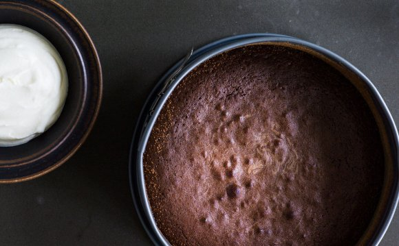 Gooey Chocolate Cake recipe