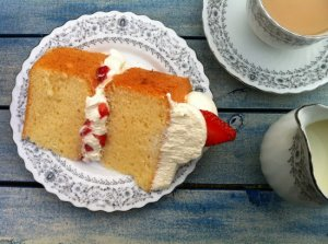 tall moist fluffy sponge cake meal reardon