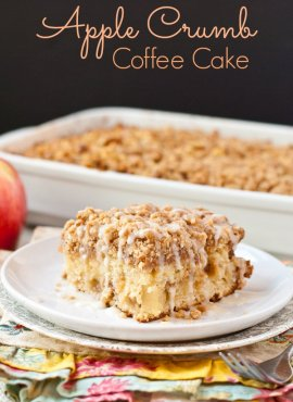 This Apple Crumb Coffee Cake is the perfect morning meal to relieve into autumn.