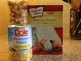 Crushed pineapple Angel Food cake recipe