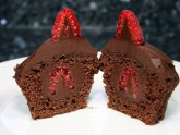 Dark Chocolate-Raspberry Cake recipe