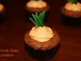 Easy Carrot Cake Cupcakes recipe