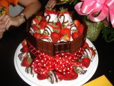 Fruit birthday cake recipe